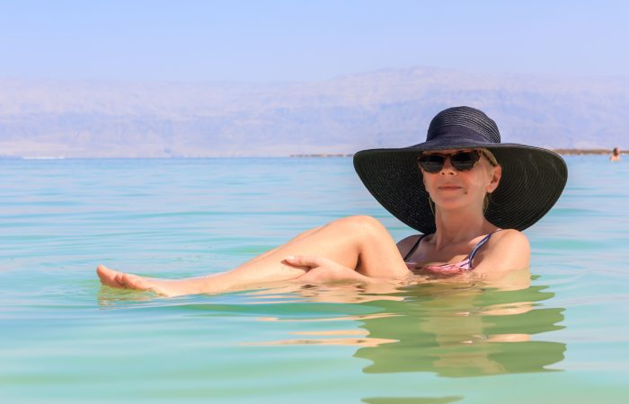 Izrael - mŕtve more
